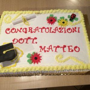torta di laurea classica