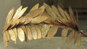 corona d'alloro | romana d'oro