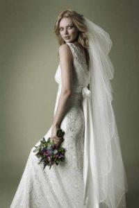 velo sposa semplice e lungo