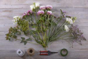 occorrenti per un bouquet da sposa