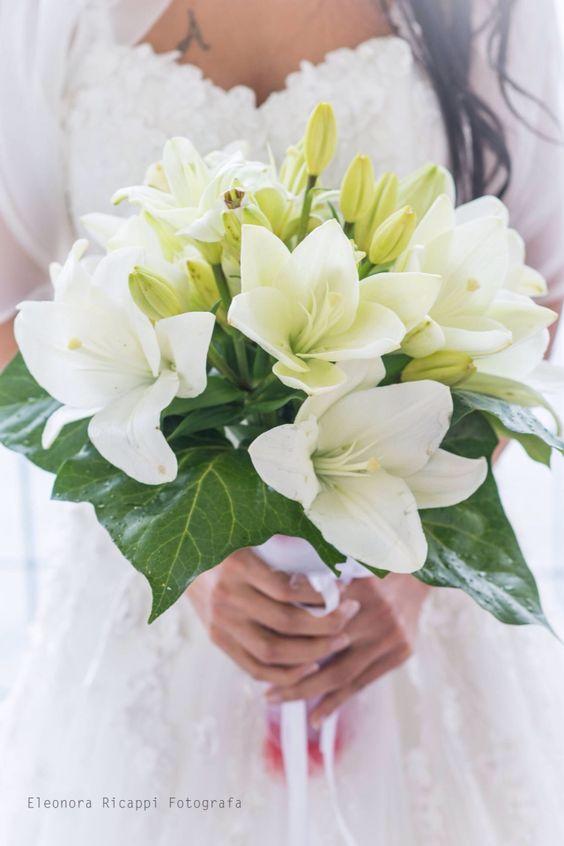 bouquet sposa gigli