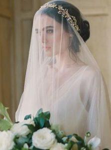 cerchietto con velo sposa