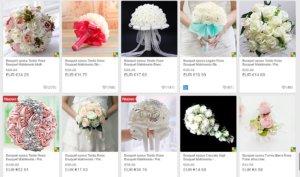 schermata bouquet sposa prezzi
