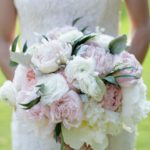 mixed peony bouquet