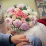 mixed peony bouquet