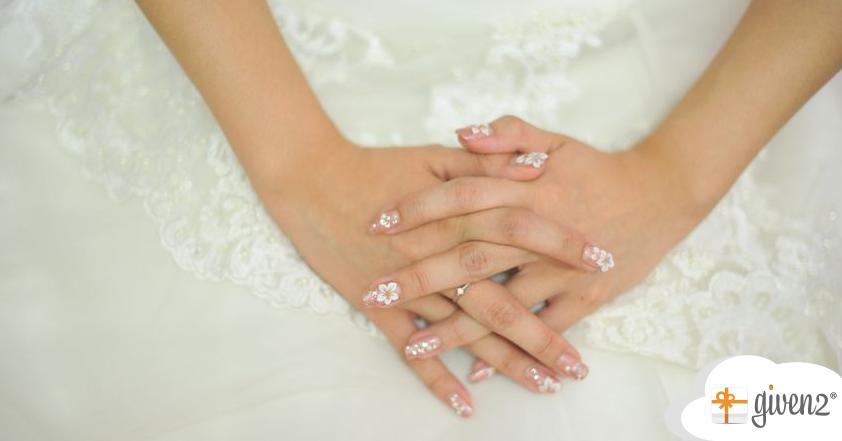 unghie sposa