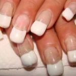 unghie sposa bianche