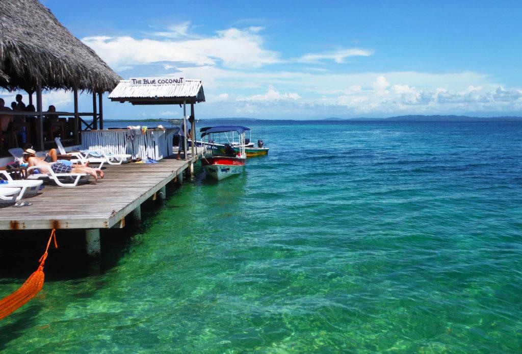 Viaggio di nozze Sud America | Blue Coconut bar - Isla Solarte