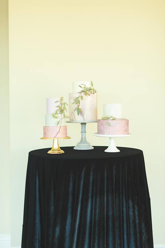 Tovagliato Matrimonio | Tovaglia Lino Nero