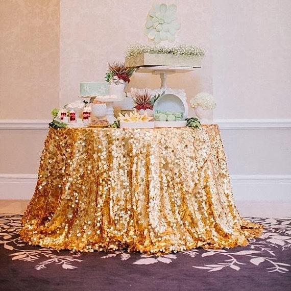 Tovagliato Matrimonio | Tovaglia Oro