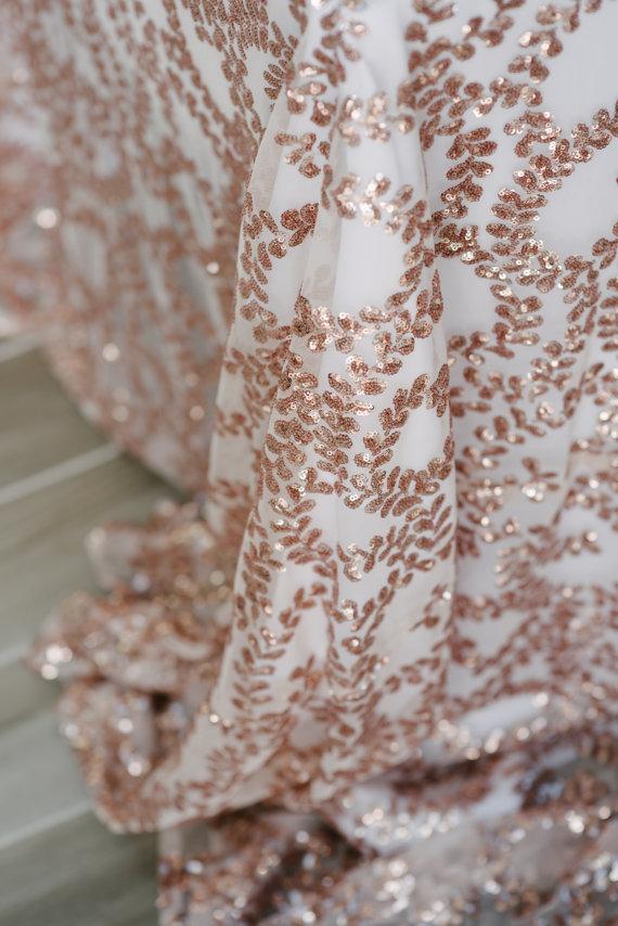 Tovagliato Matrimonio | Tovaglia Rose Gold