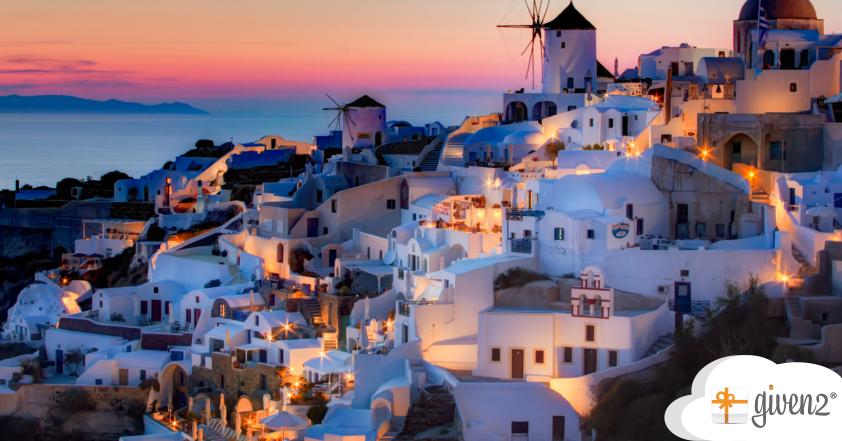 Flitterwochen Griechenland